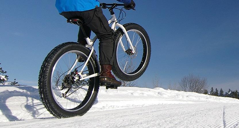 Fat biking at Albion Hills Conservation Park
