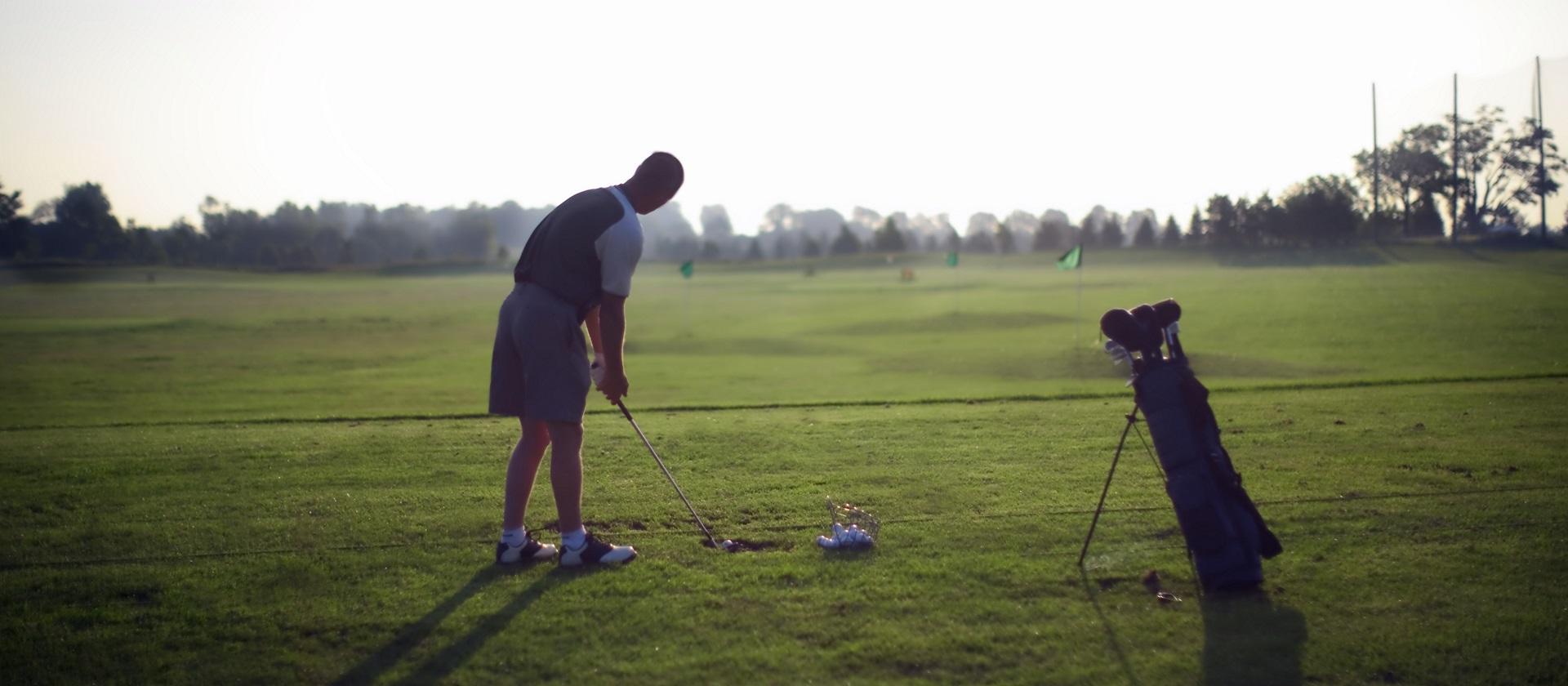 Golfing at Bathurst Glen