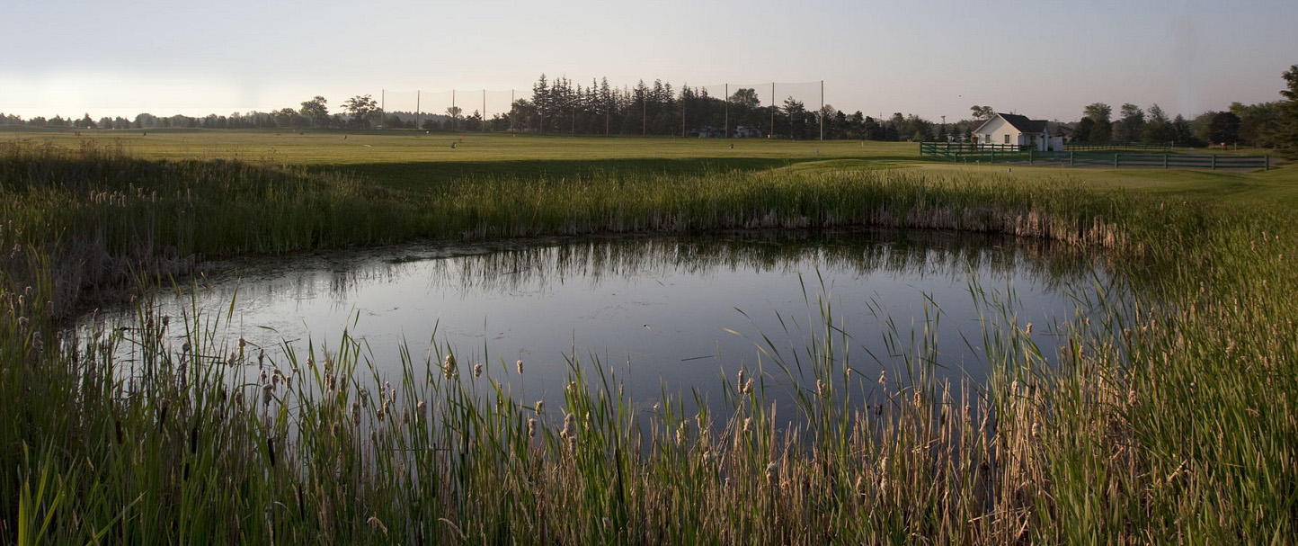 water hazard at bathurst glen golf course