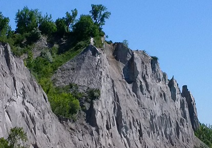 View of the Scarborough Bluffs