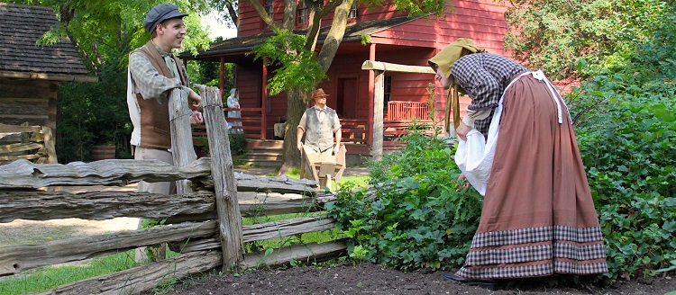 Historic sightseeing at black creek pioneer village