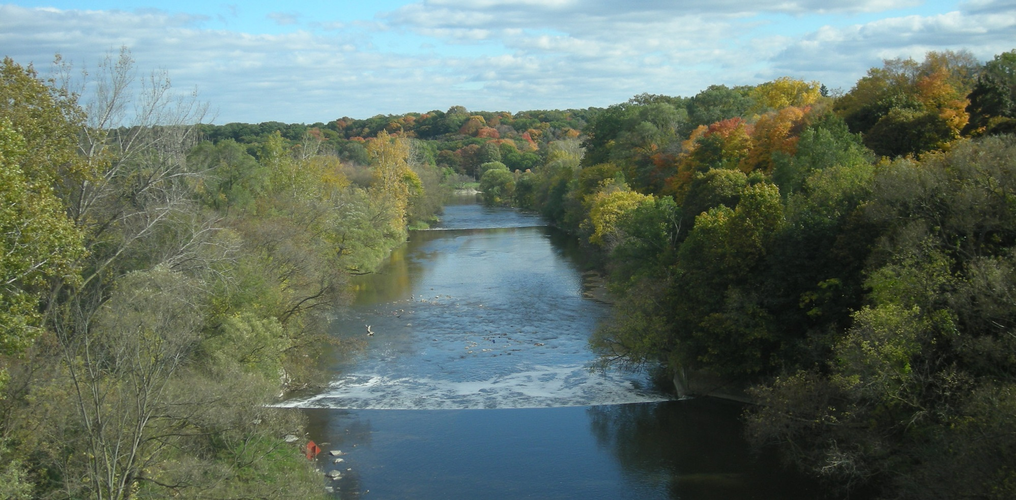 View of the Humber River