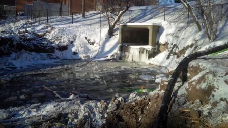 Amberlea Creek Project Site Before Construction