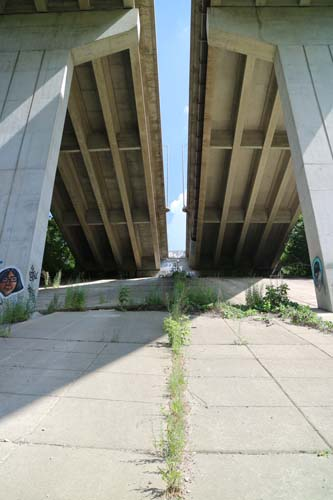 Bridges along Highland Creek