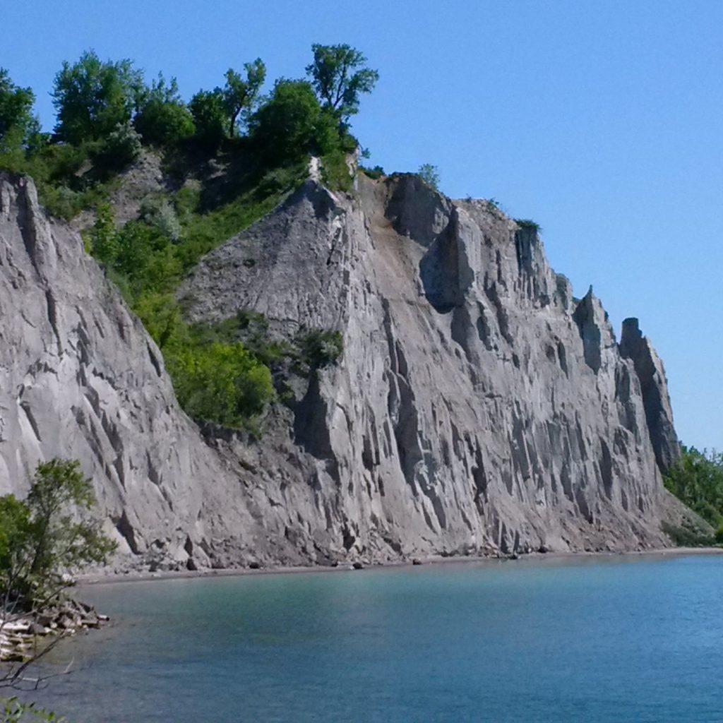 Lake Ontario shoreline