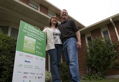 County Court SNAP community residents celebrate their green home makeover