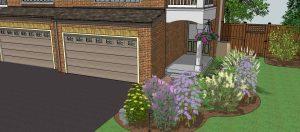 Eco-landscaping Butterfly Garden design