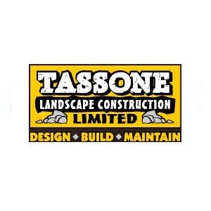 Tassone landscape construction logo