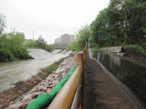 West Deane Park Bank Stabilization Project Site 1 Complete