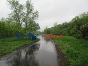West Deane Park Bank Stabilization Project Site 2 Completed