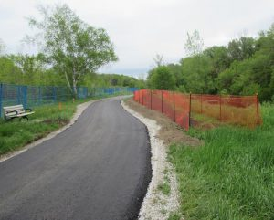 Paving work at Site 2.