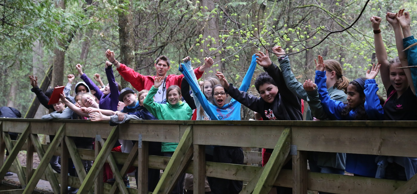 Youth group at Claremont Field Centre