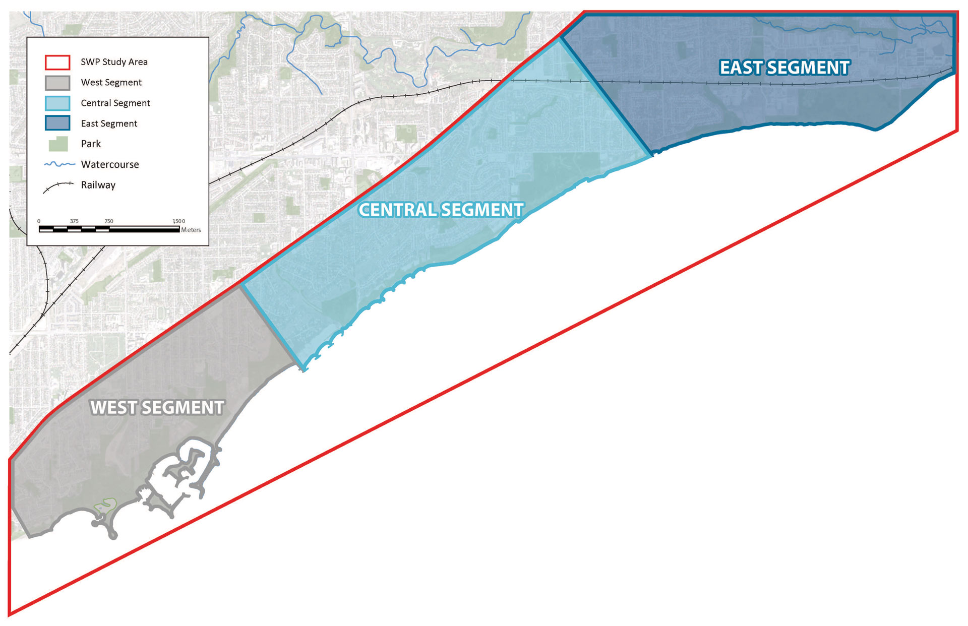 All segments of the Scarborough Waterfront Project