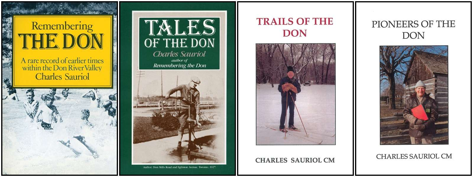 collection of books by Charles Sauriol