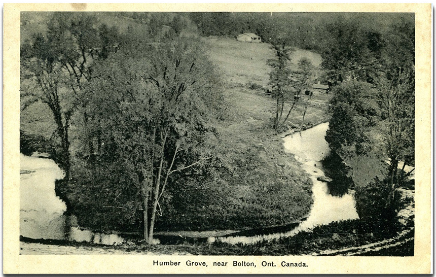 1930s postcard depicts Humber Grove community