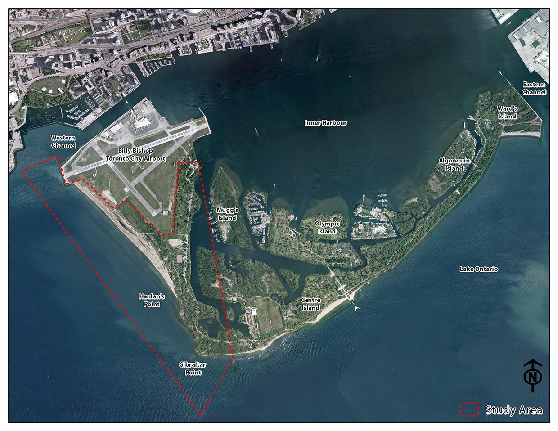 Gibraltar Point Study Area