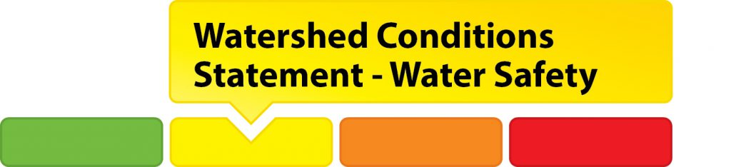 Watershed Conditions Statement - Water Safety