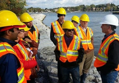 PAIE program participants take part in TRCA field trip