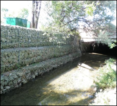Tyndall Flood Wall