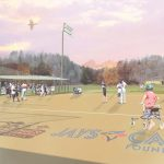 architectural rendering of accessible baseball diamond at Bolton Camp