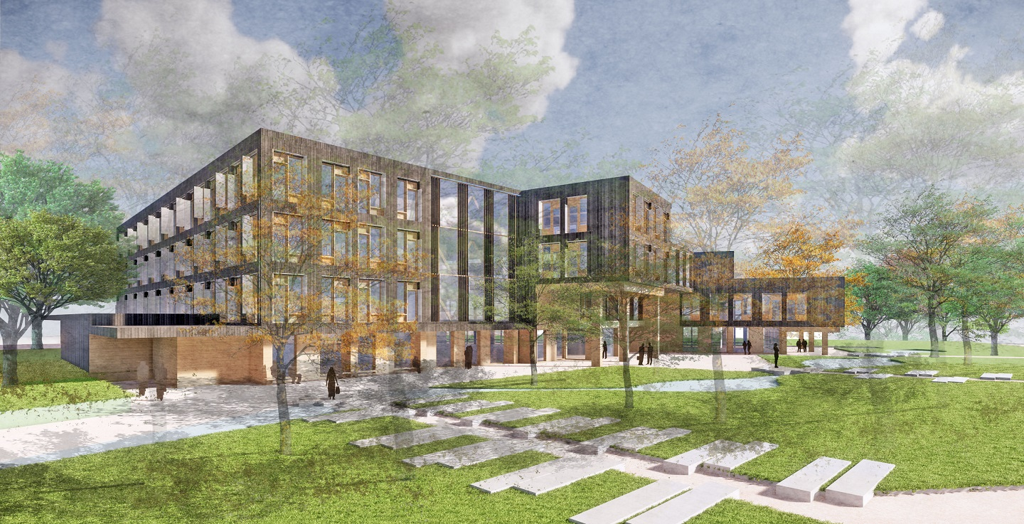 Architectural rendering of new TRCA head office