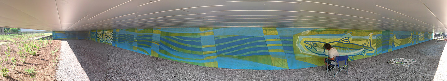 Don River mural on May 29 2018