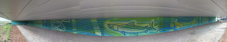 Don River mural on June 4 2018