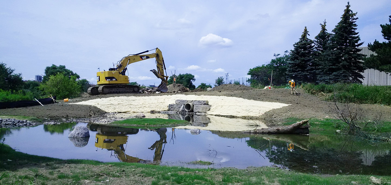 Alfred Kuehne stream restoration project