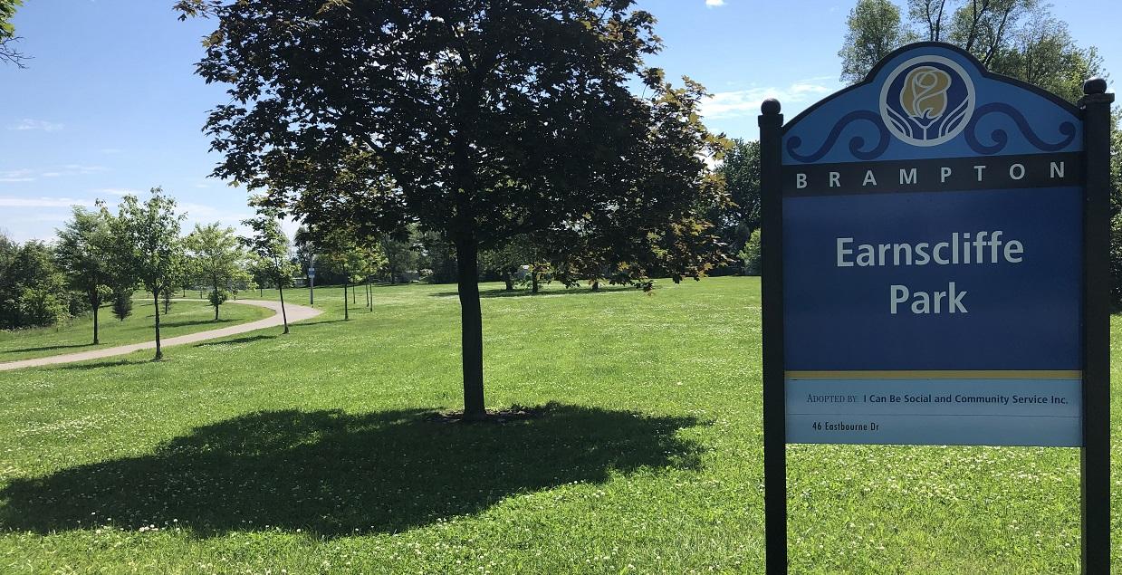 Earnscliffe Park in Bramalea