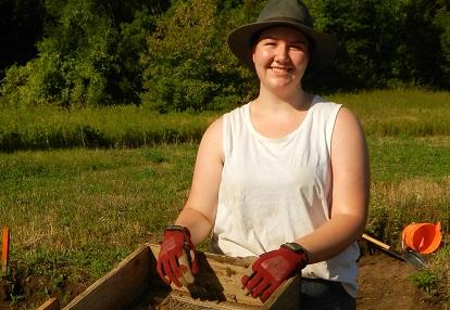 Boyd Archaeological Field School scholarship recipient