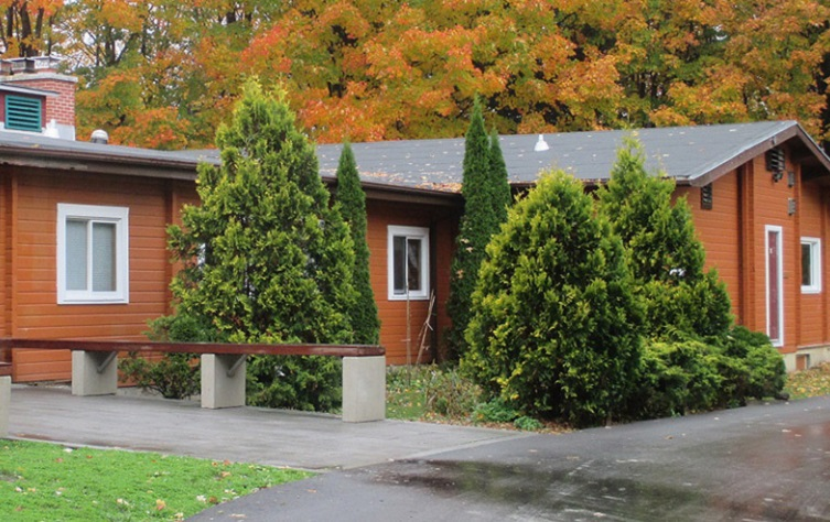 exterior of Claremont Nature Centre