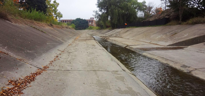 Black Creek channel