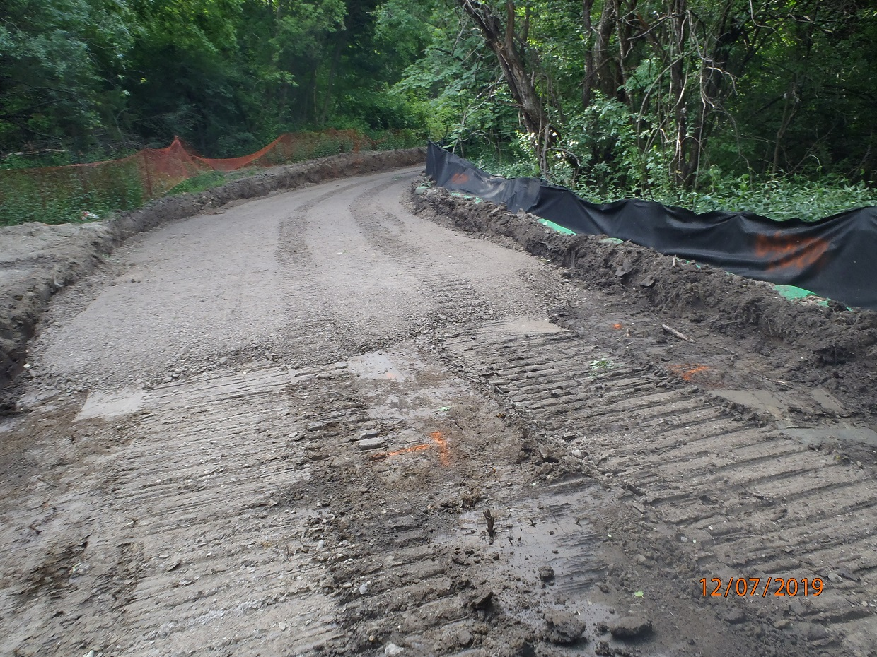 new trail construction