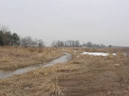 example of a headwater drainage feature