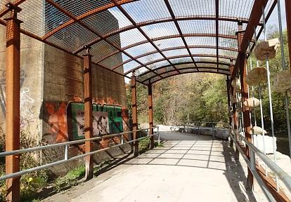 East Don Trail runs beneath overpass