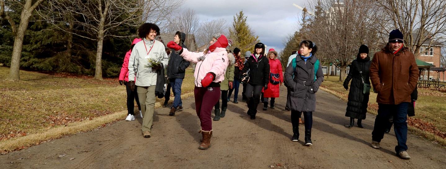 international delegation tours TRCA watershed