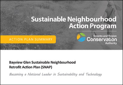 cover page of Bayview Glen SNAP action plan summary
