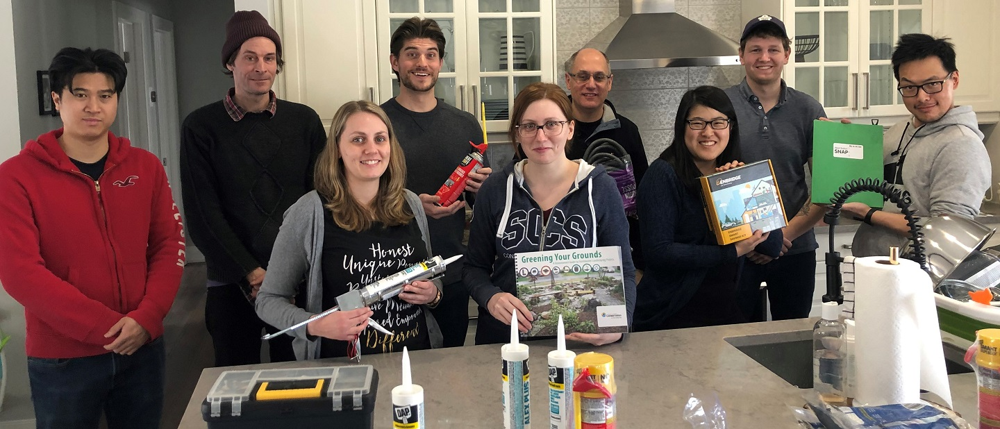 Home Demonstration project grant recipients gather for DIY home energy party