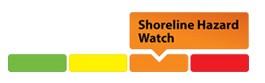 sample of shoreline hazard watch graphic