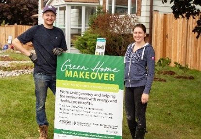 West Bolton SNAP Green Home Makeover homeowners