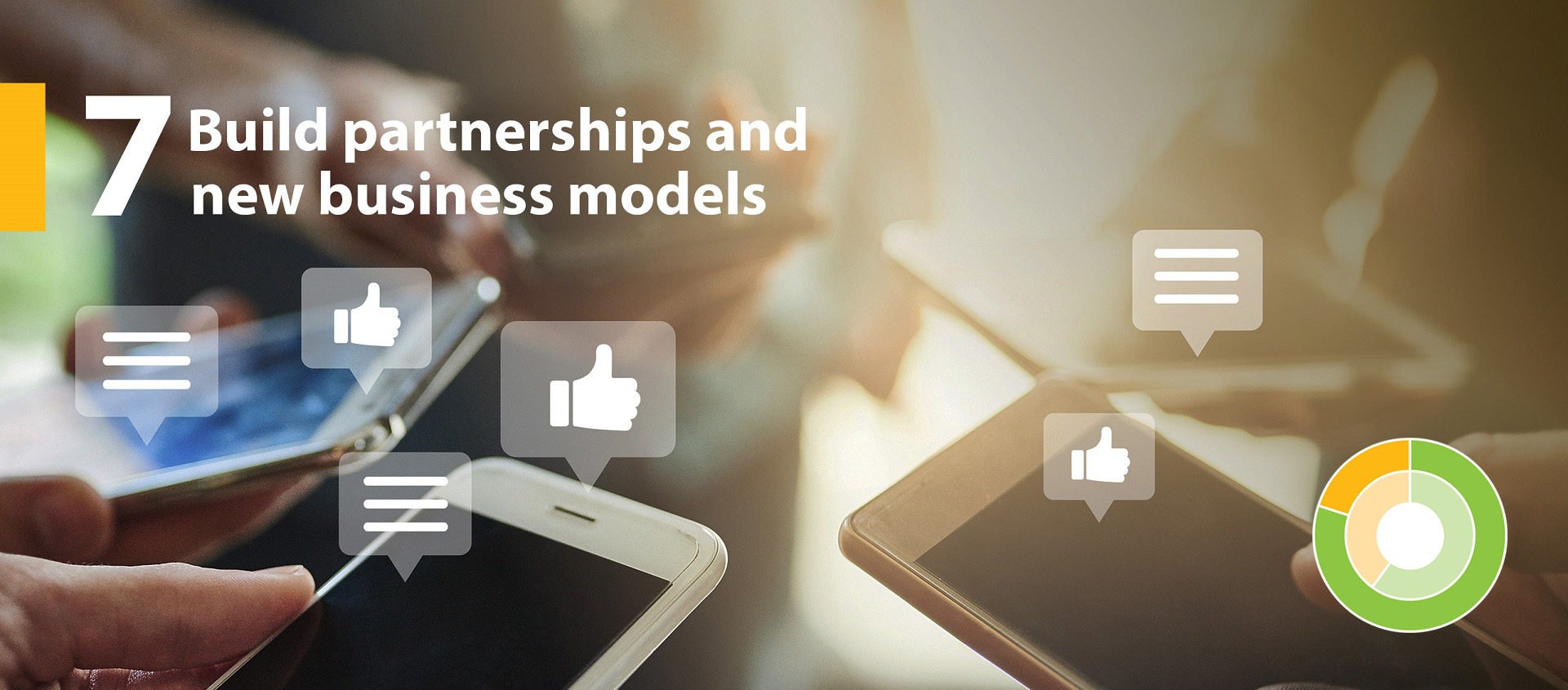 TRCA strategic goal 7 - Build partnerships and new business models