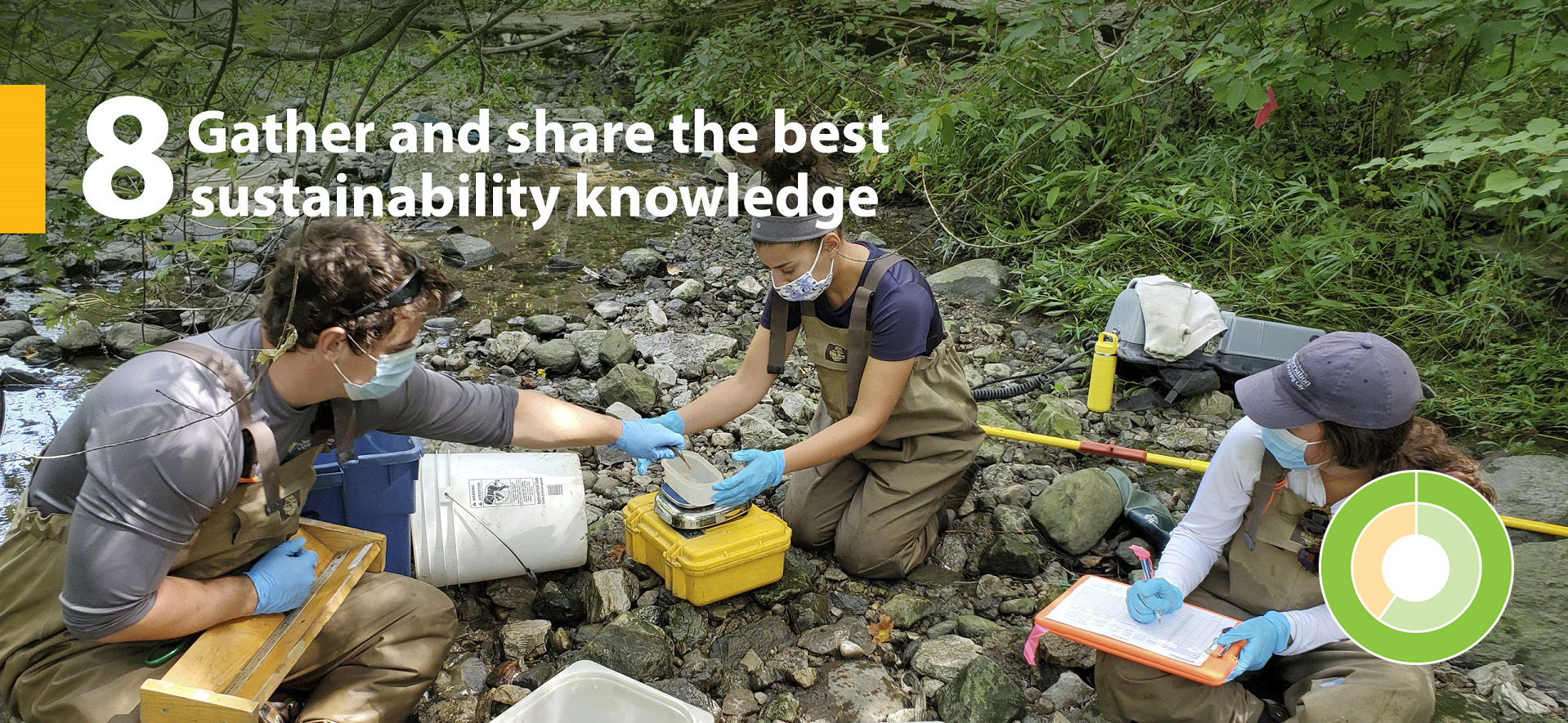 TRCA strategic goal 8 - Gather and share the best sustainability knowledge