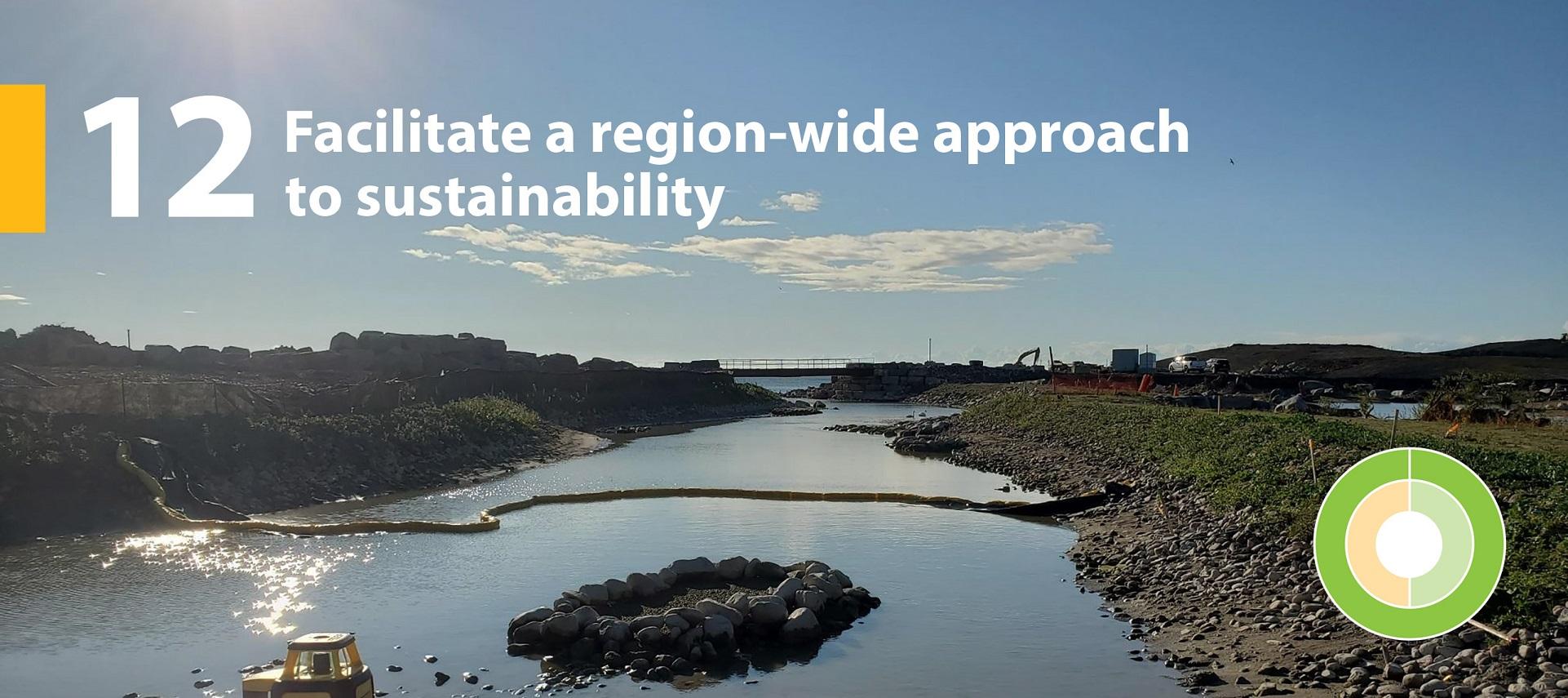 TRCA strategic goal 12 - Facilitate a region-wide approach to sustainability