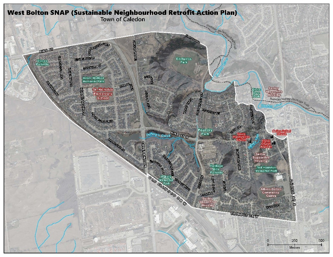 West Bolton SNAP action plan map