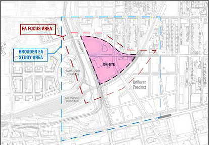 Broadview and Eastern Flood Protection Environmental Assessment Study Area Map