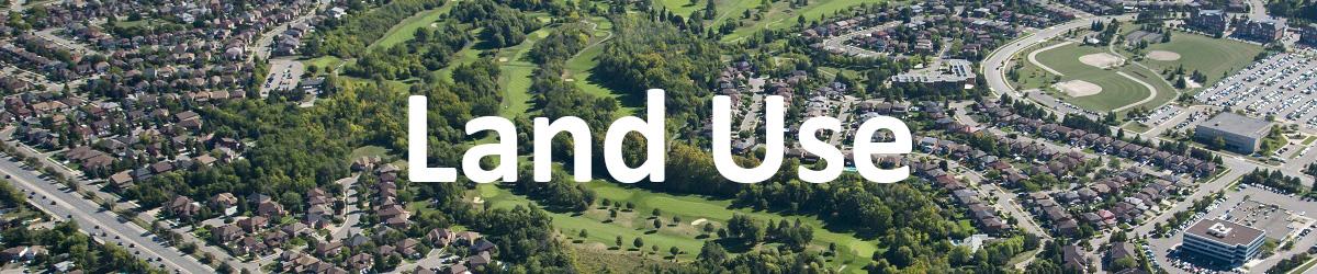 TRCA Reporting Hub - Land Use