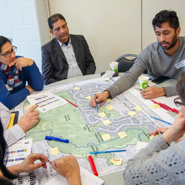 County Court neighbourhood residents take part in visioning session