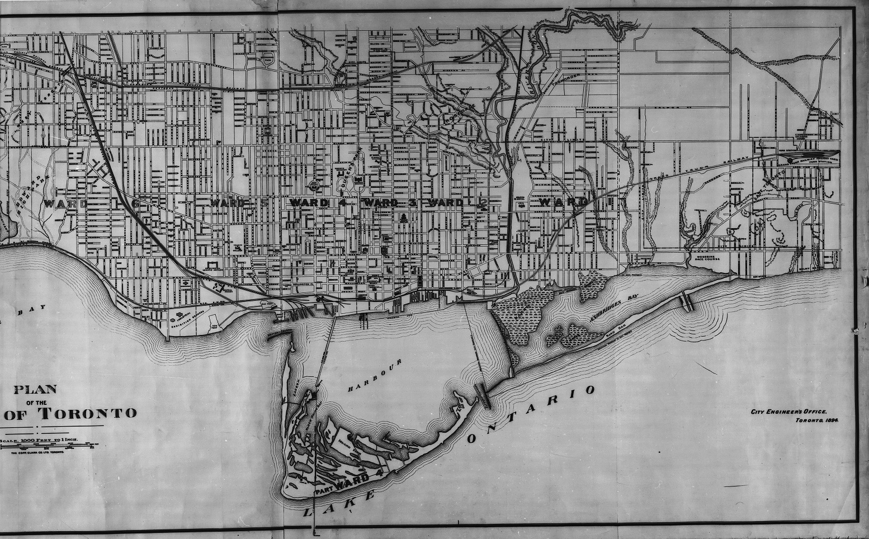 Plan of the City of Toronto - 1894