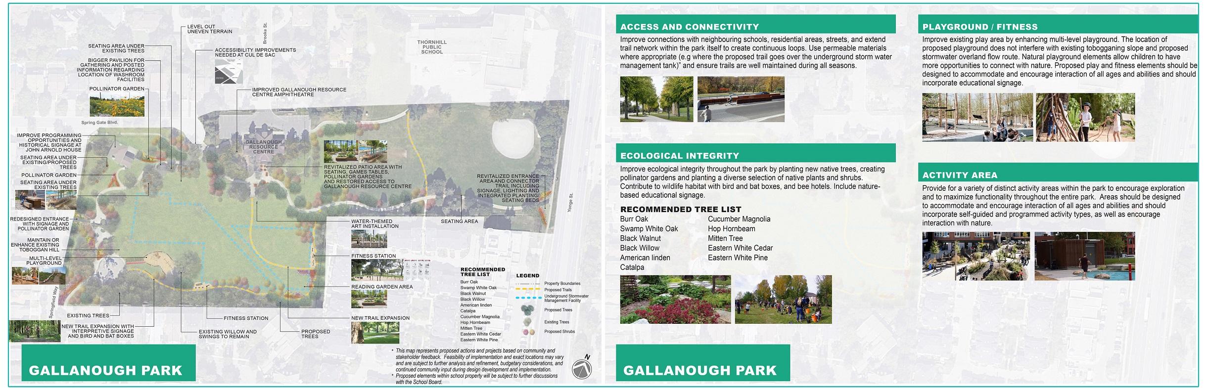 Gallanough Park redevelopment conceptual plan
