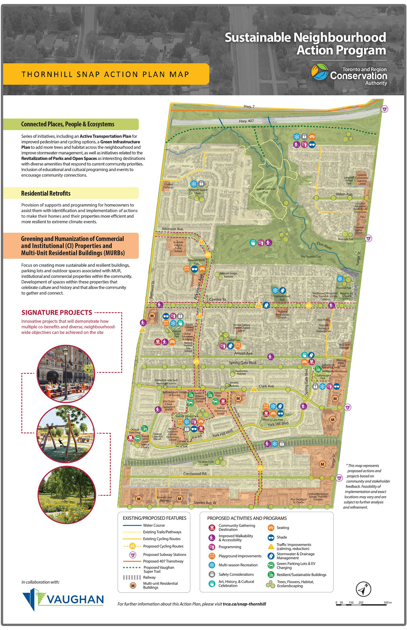 Thornhill SNAP action plan map